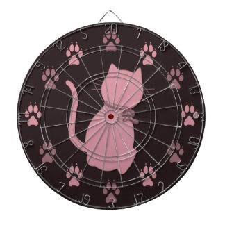 Pink Kitty Dartboards