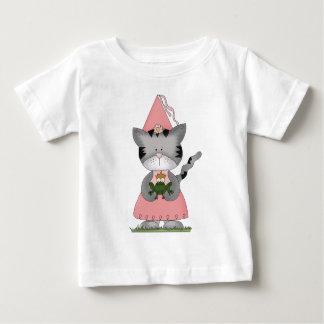 Pink Kitty Princess Baby T-Shirt
