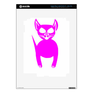 Pink kitty skin for iPad 3