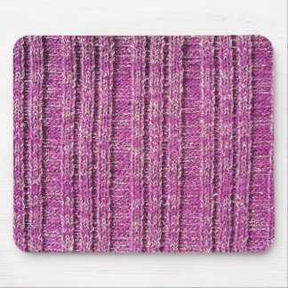 Pink Knit Sweater Mouse Pad
