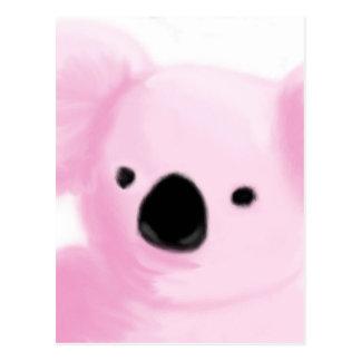 Pink Koala Postcard
