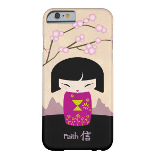 Pink kokeshi - faith barely there iPhone 6 case