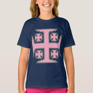 Pink Kross™ Girls' Tagless Comfort Tee