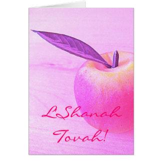 Pink L Shanah Tovah Apple Card
