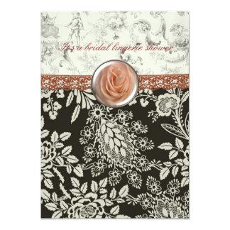 Pink Lace Bridal Shower invitation