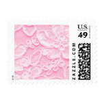 Pink Lace Stamp