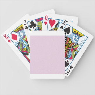 Pink Lace Star Dust Bicycle Playing Cards