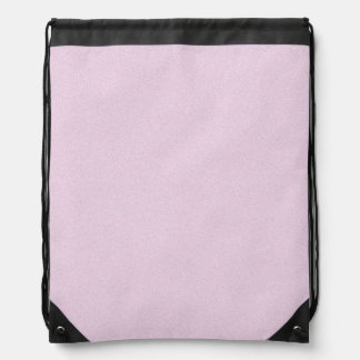 Pink Lace Star Dust Drawstring Backpack