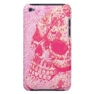 Pink lace sugar skull ipod case iPod touch covers