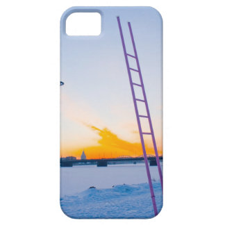 Pink Ladder to Nowhere iPhone SE/5/5s Case