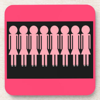 PINK LADIES coasters