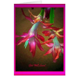 Pink Ladies Dancing, Get Well Soon Card