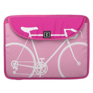 "Pink Lady Bike design Macbook Pro 15"" Laptop Case Sleeves For MacBook Pro"