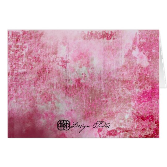 Pink Lady Card