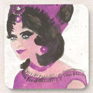 Pink Lady Coaster