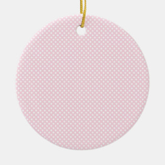 Pink Lady Collection - White Stars Christmas Ornaments