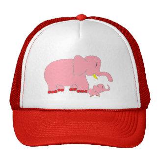 Pink Lady Elephants Hat