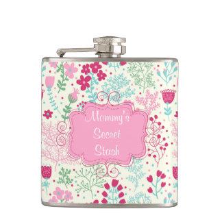 Pink Lady Hip Flask