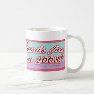 Pink Lady Liberty Obama Mug
