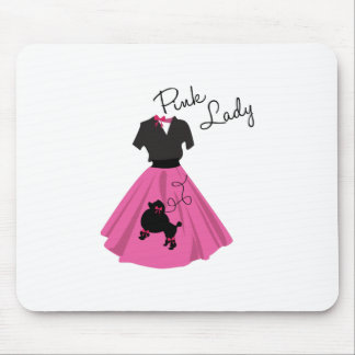 Pink Lady Mouse Pad