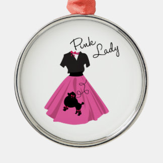 Pink Lady Christmas Ornament