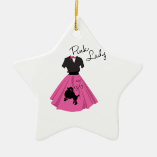 Pink Lady Christmas Tree Ornament