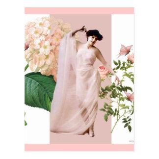 Pink lady postcards