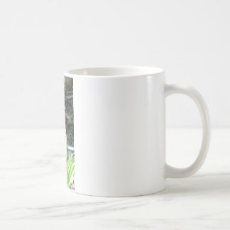 Pink Lady slipper orchid Classic White Coffee Mug