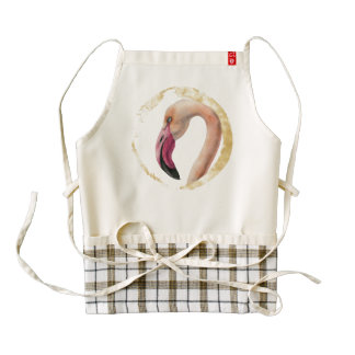 Pink Lady Zazzle HEART Apron