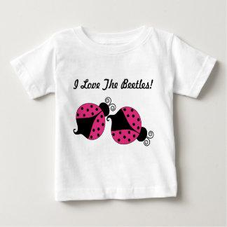 Pink Ladybug Baby Shirt