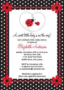 Ladybug baby shower invitations zazzle pink ladybug baby shower invitation filmwisefo