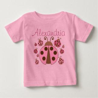 Pink Ladybug Baby T-Shirt