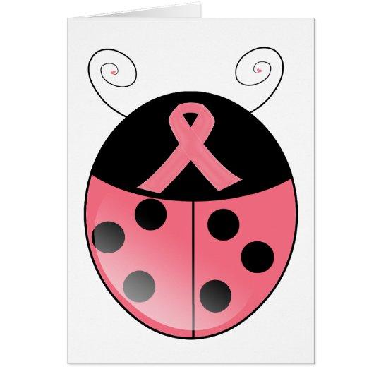 Pink Ladybug Card