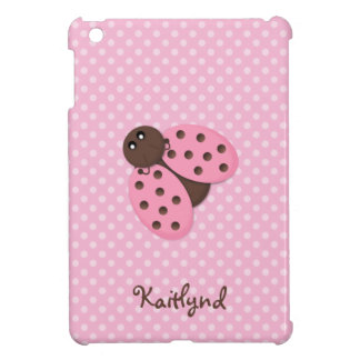Pink Ladybug Cover For The iPad Mini