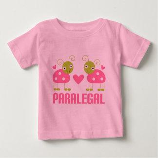 Pink Ladybug Paralegal Gift Baby T-Shirt