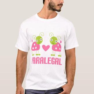 Pink Ladybug Paralegal Gift T-Shirt