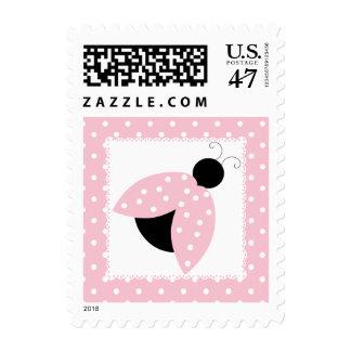 Pink Ladybug & Polka Dot Stamp