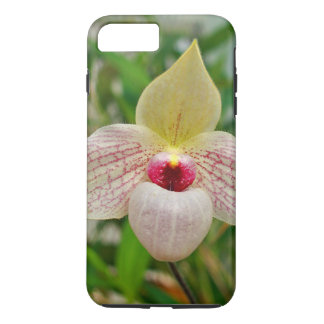 Pink Lady's Slipper Orchid iPhone 7 Plus Case