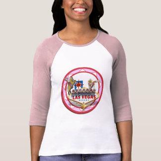 Pink Las Vegas Poker Chip T-Shirt