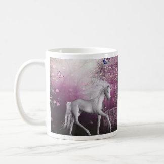 pink last unicorn coffee mug