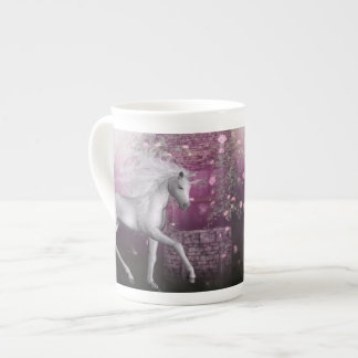 pink last unicorn tea cup