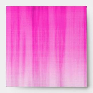 Pink,Lavender,Blue Plaid Pop Birthday Envelope