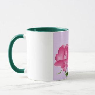 """""""Pink Lavender Rose"""" Mug"""