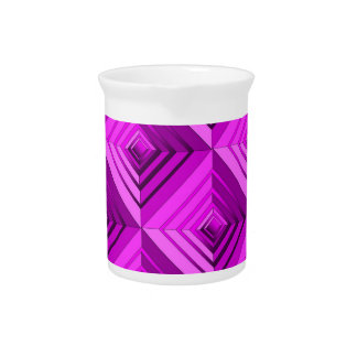Pink Layers Beverage Pitchers