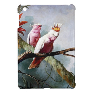 Pink Leadbeater Parrot birds painting Cover For The iPad Mini