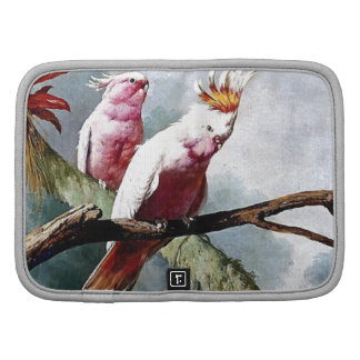 Pink Leadbeater Parrot birds painting Organizer