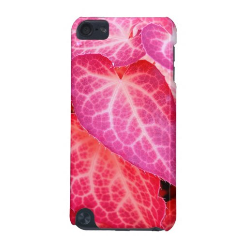 Pink leaf II iPod Touch 5G Cases