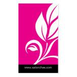 Pink Leaf Salon Spa Business Card