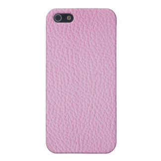 Pink leather iPhone 5 covers