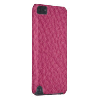 Pink Leather iPod Touch (5th Generation) Case